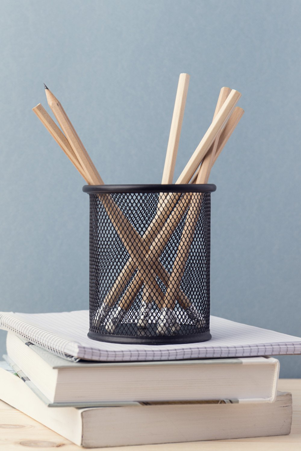 pencils in holder for free homeschool post
