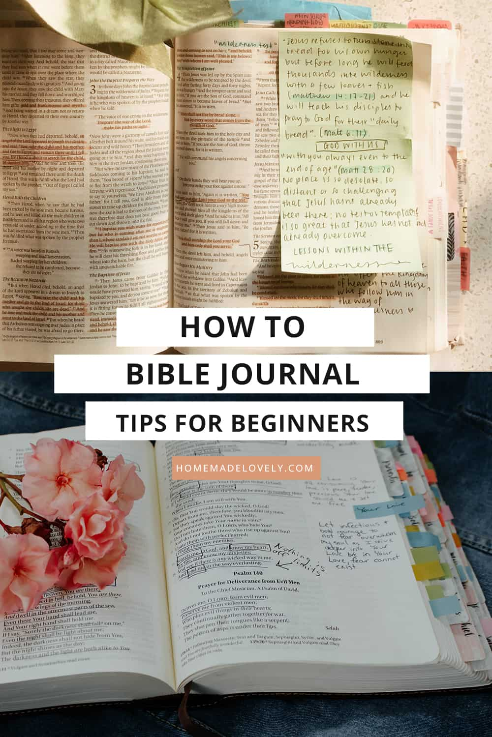 How to Bible Journal – Easy Bible Journaling Tips for Beginners to Start