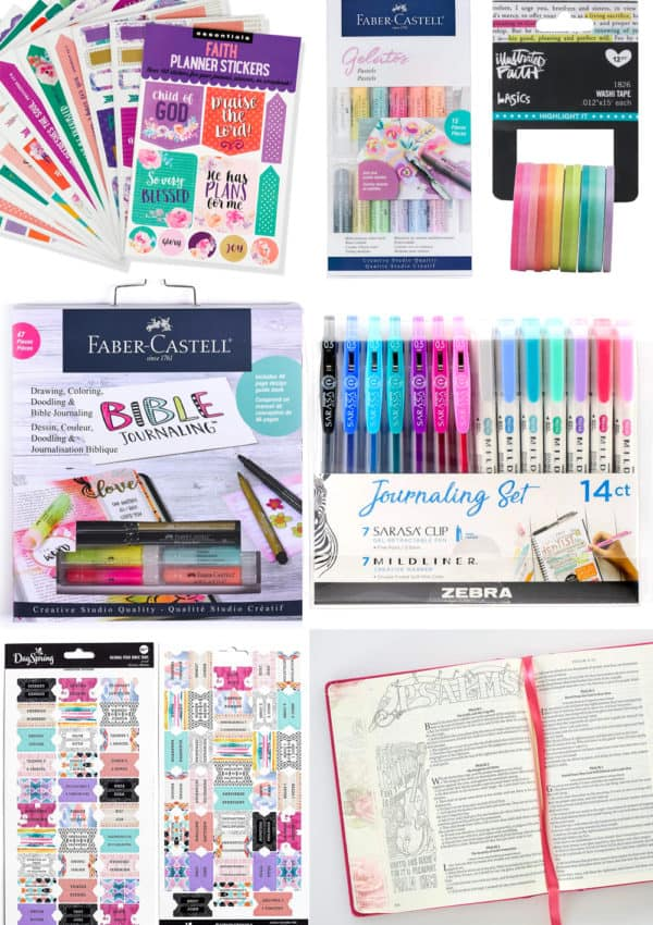 Bible Journaling Supplies – The Ultimate Guide for Beginners