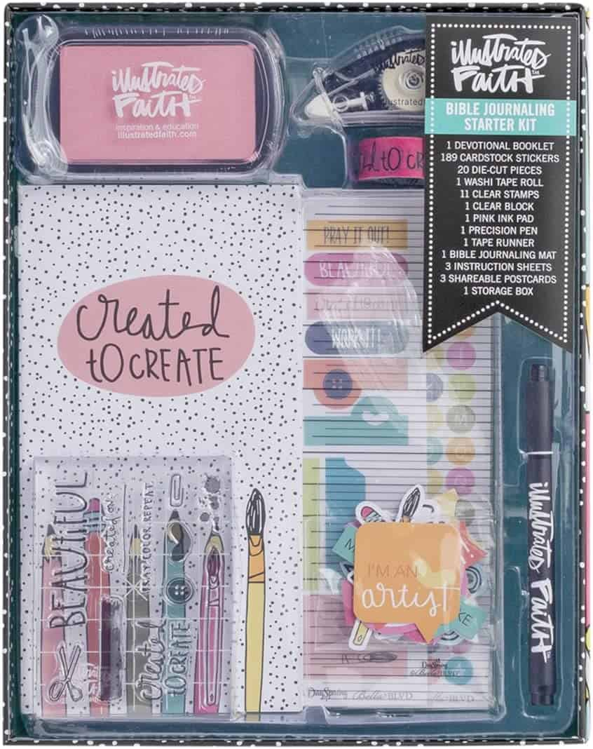 Illustrated Faith BIble Journaling Kit