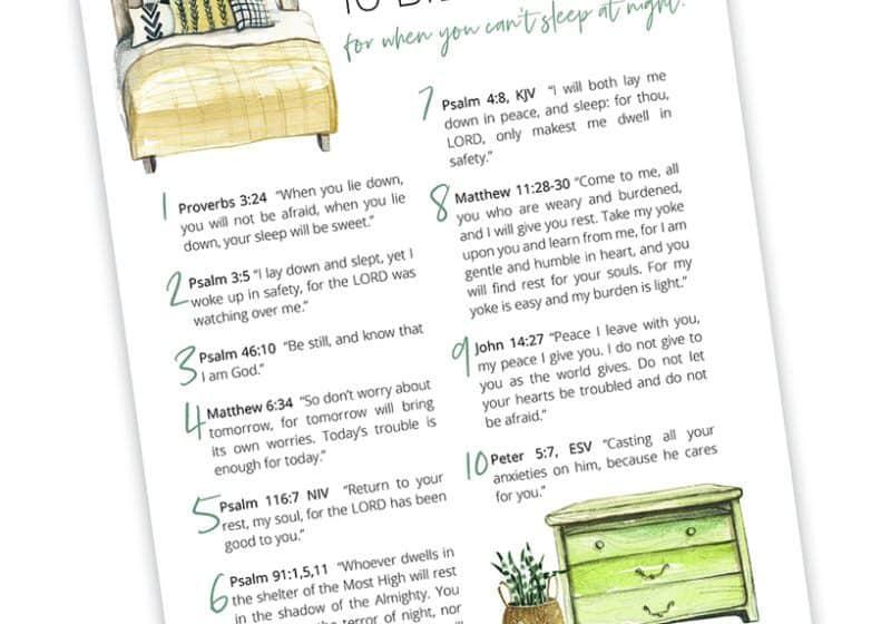 sleep bible verses printable for blog 2