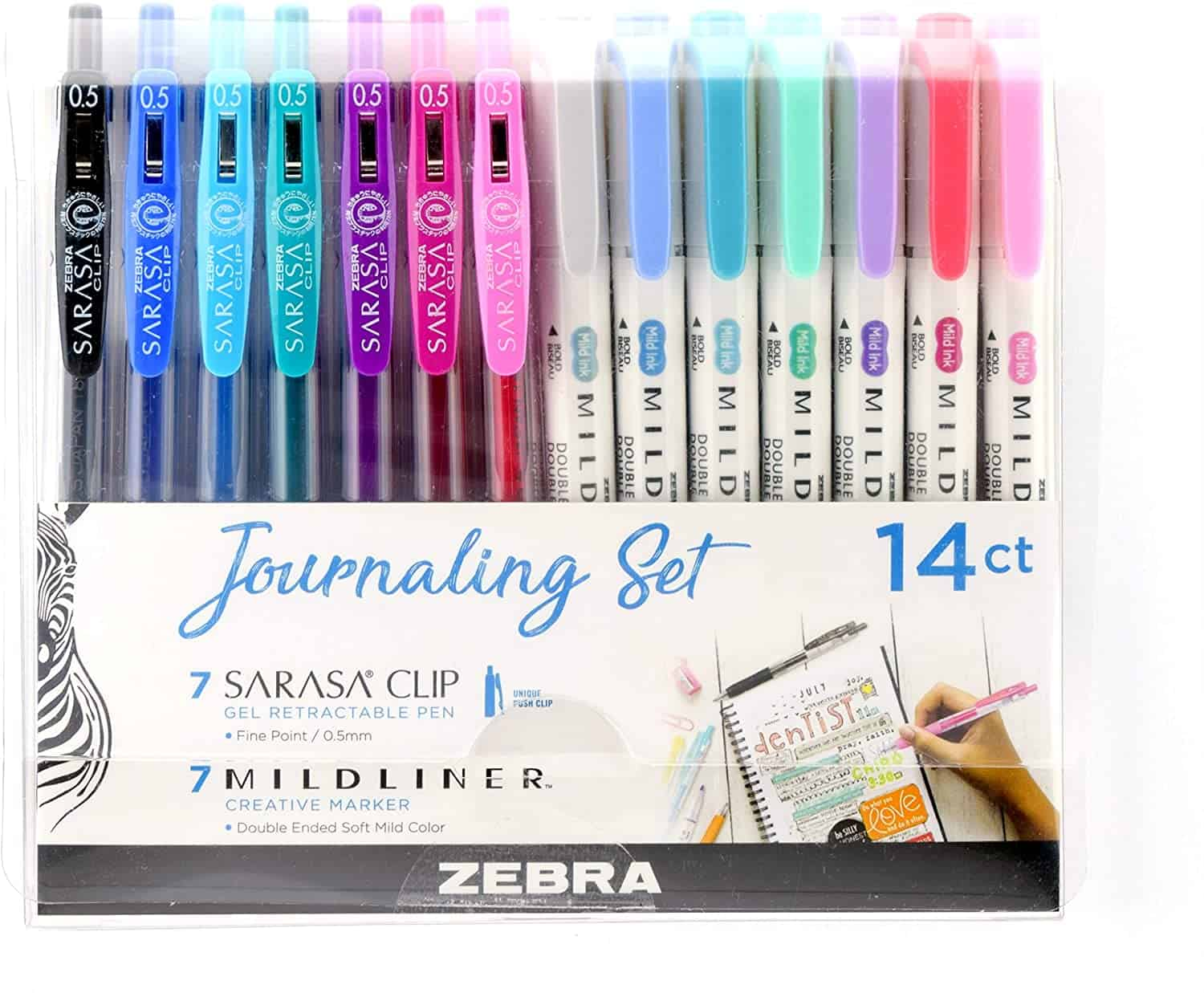 zebra pen journaling set