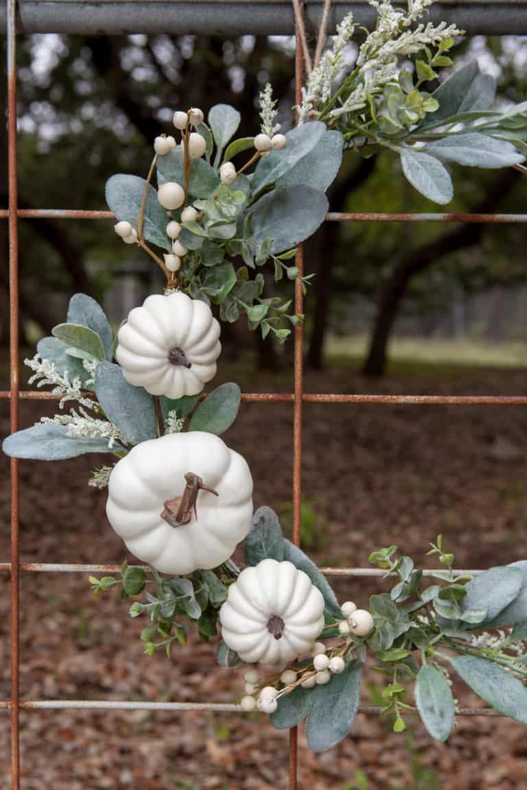 How to Make a Modern Farmhouse Fall Wreath (Or for Any Season)