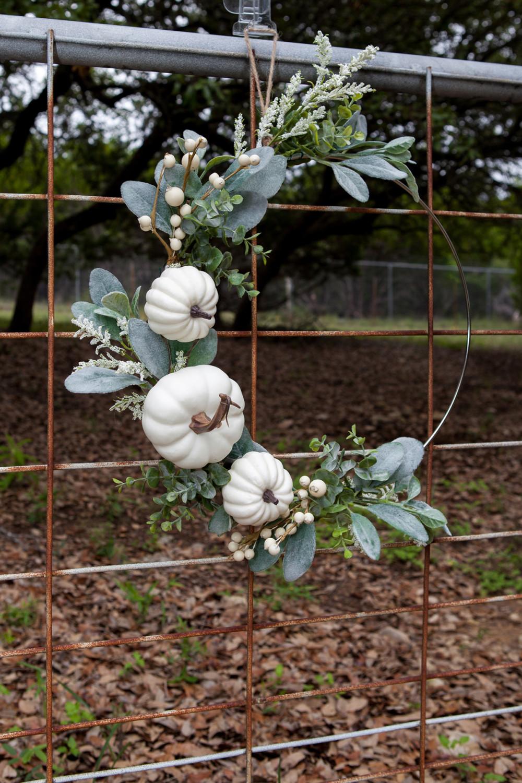 Vertical - Modern Farmhouse Fall Wreath