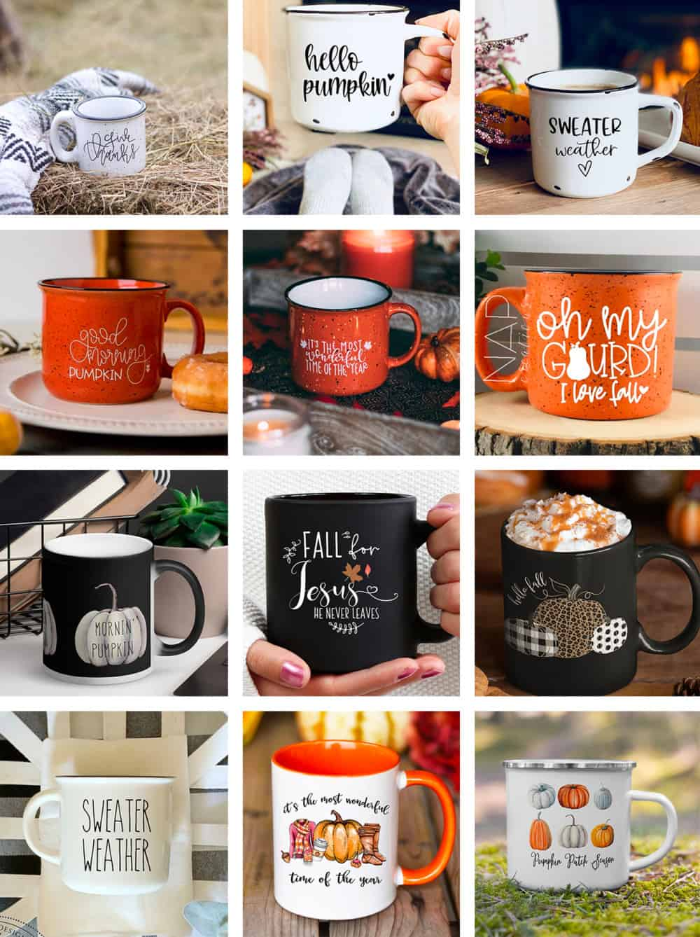cozy fall mugs from etsy round up