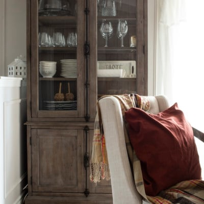 dining room hutch fall 2020