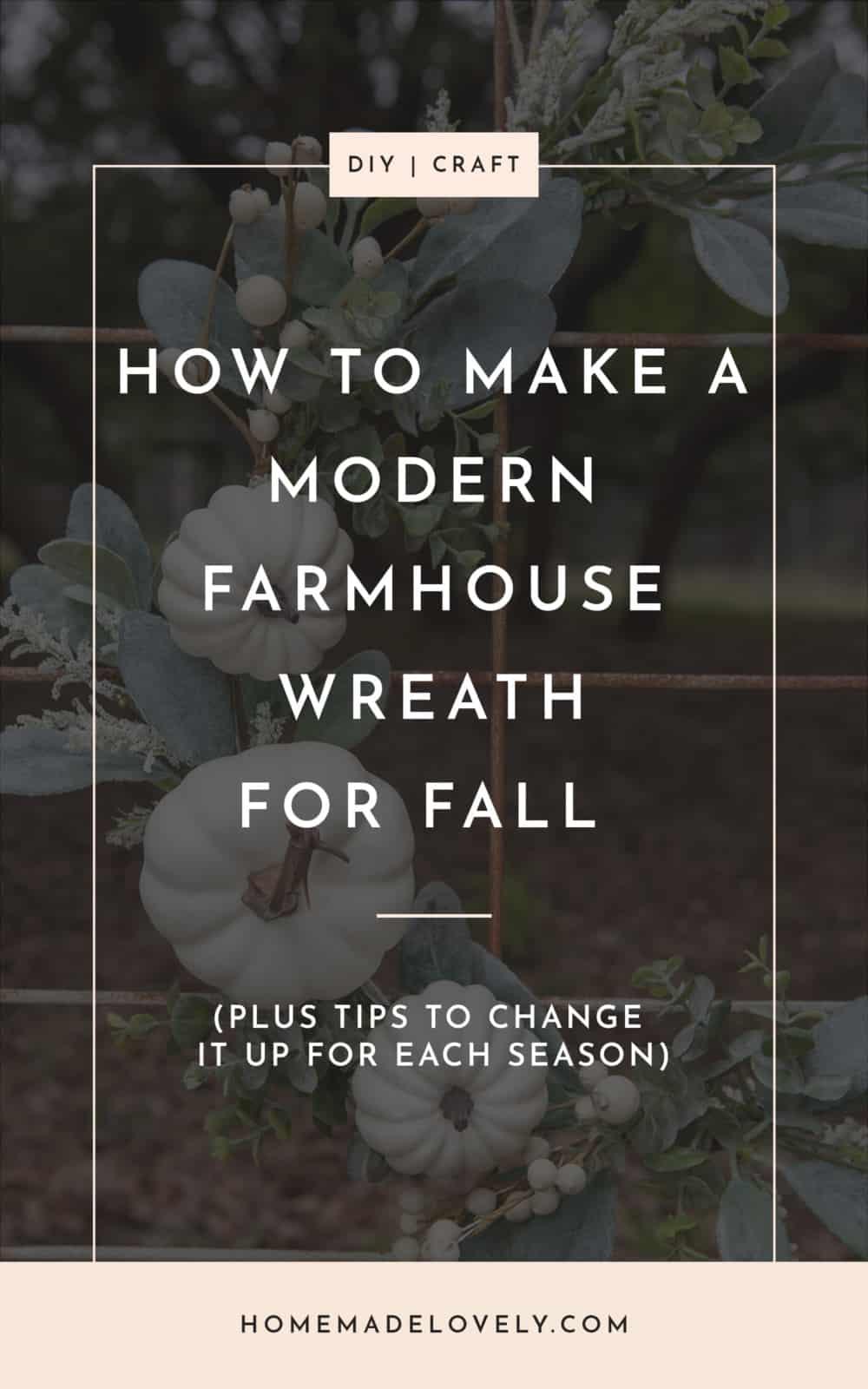 how to make a modern farmhouse fall wreath pin 2