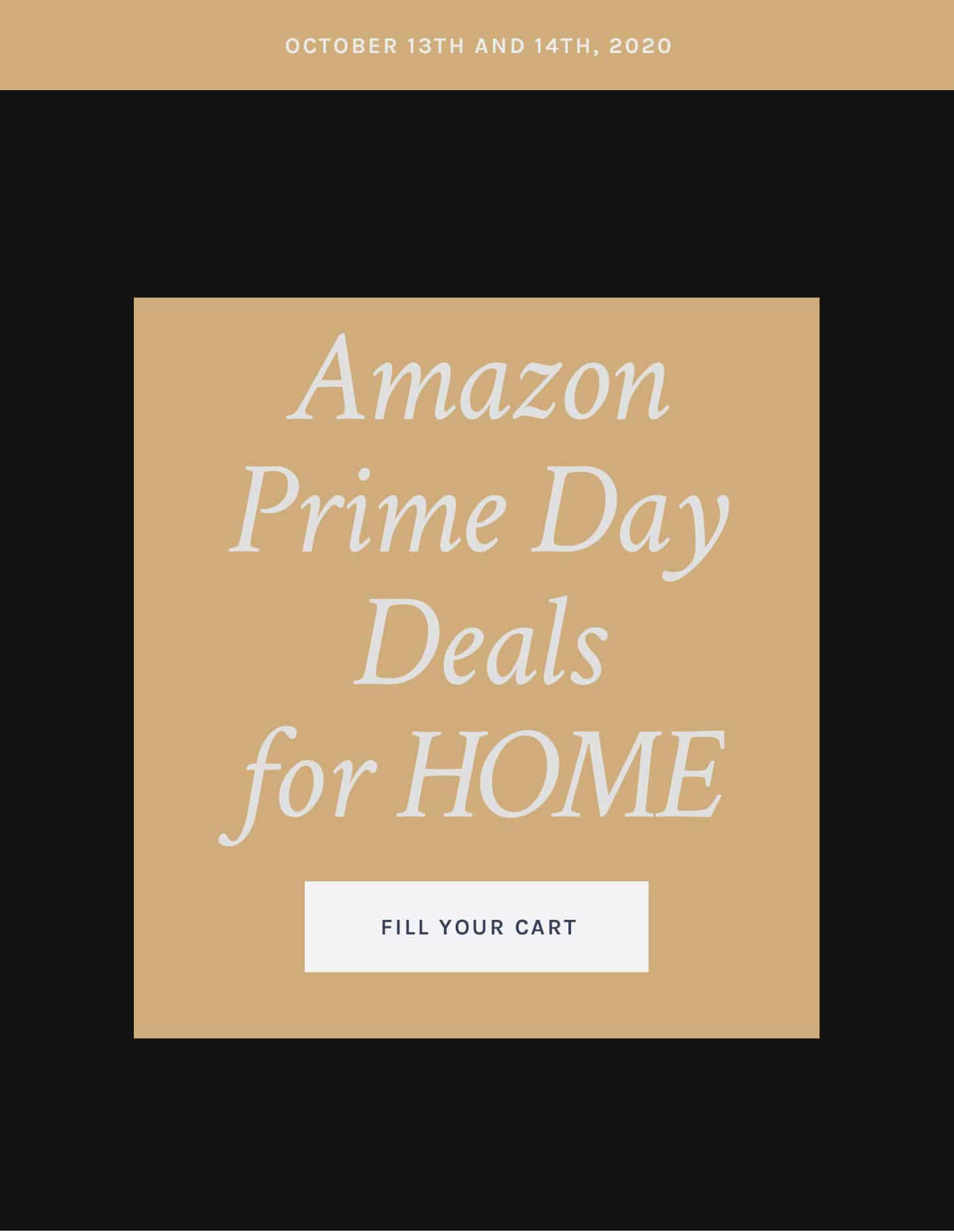 Amazon Prime Day Deals for Home
