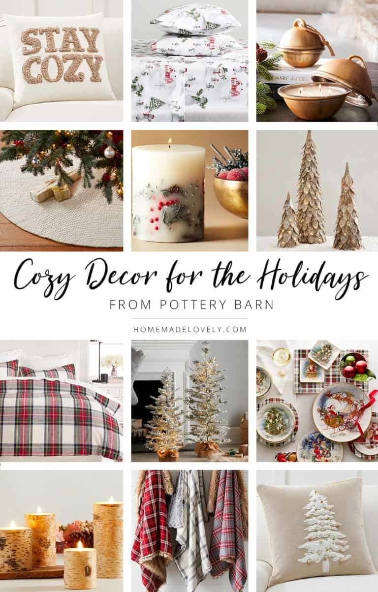 Cozy Decor for the Holidays from Pottery Barn pin