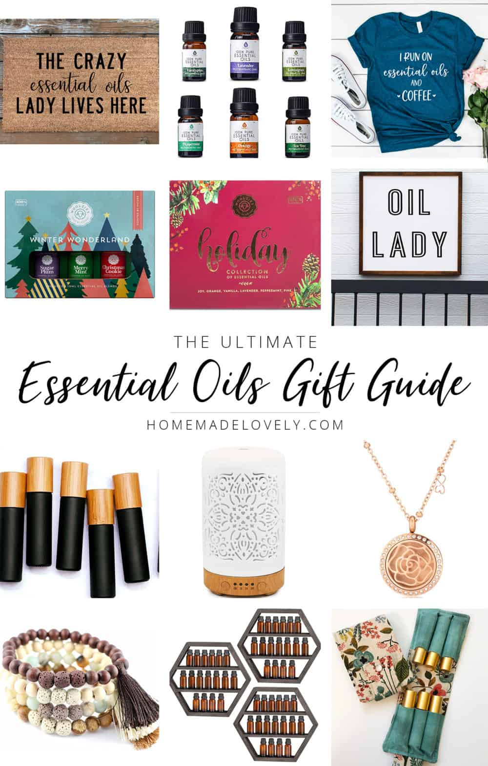 Essential Oils Gift Guide pin 1 copy
