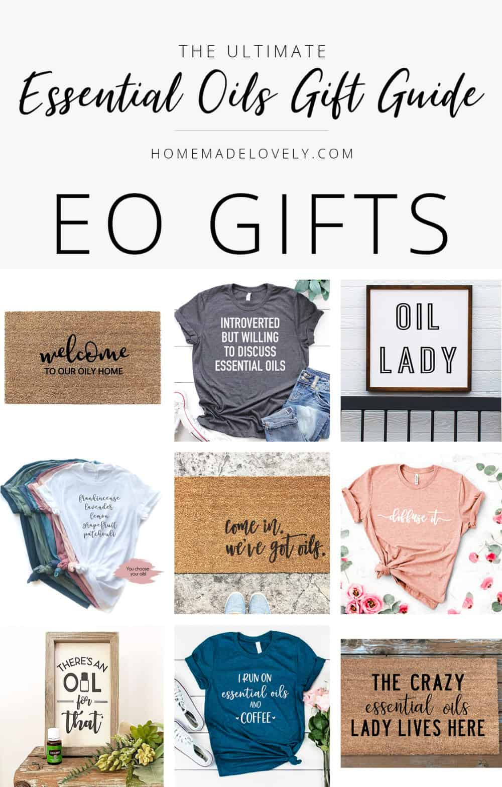 essential oil gift guide eo gifts