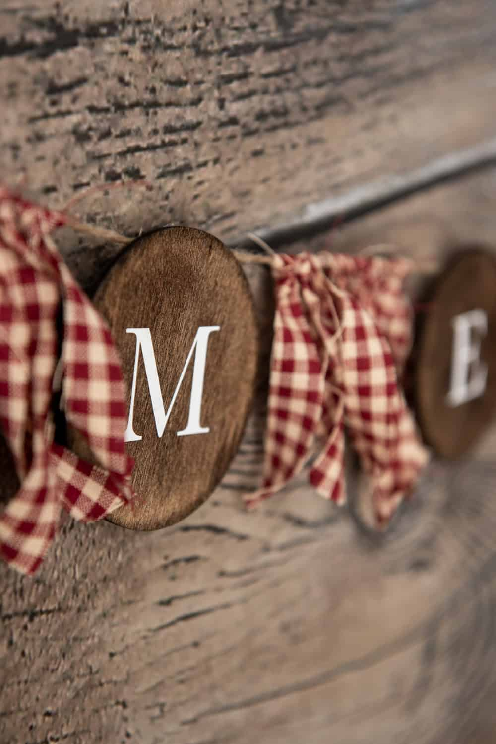 Farmhouse-Style Holiday Wood Banner
