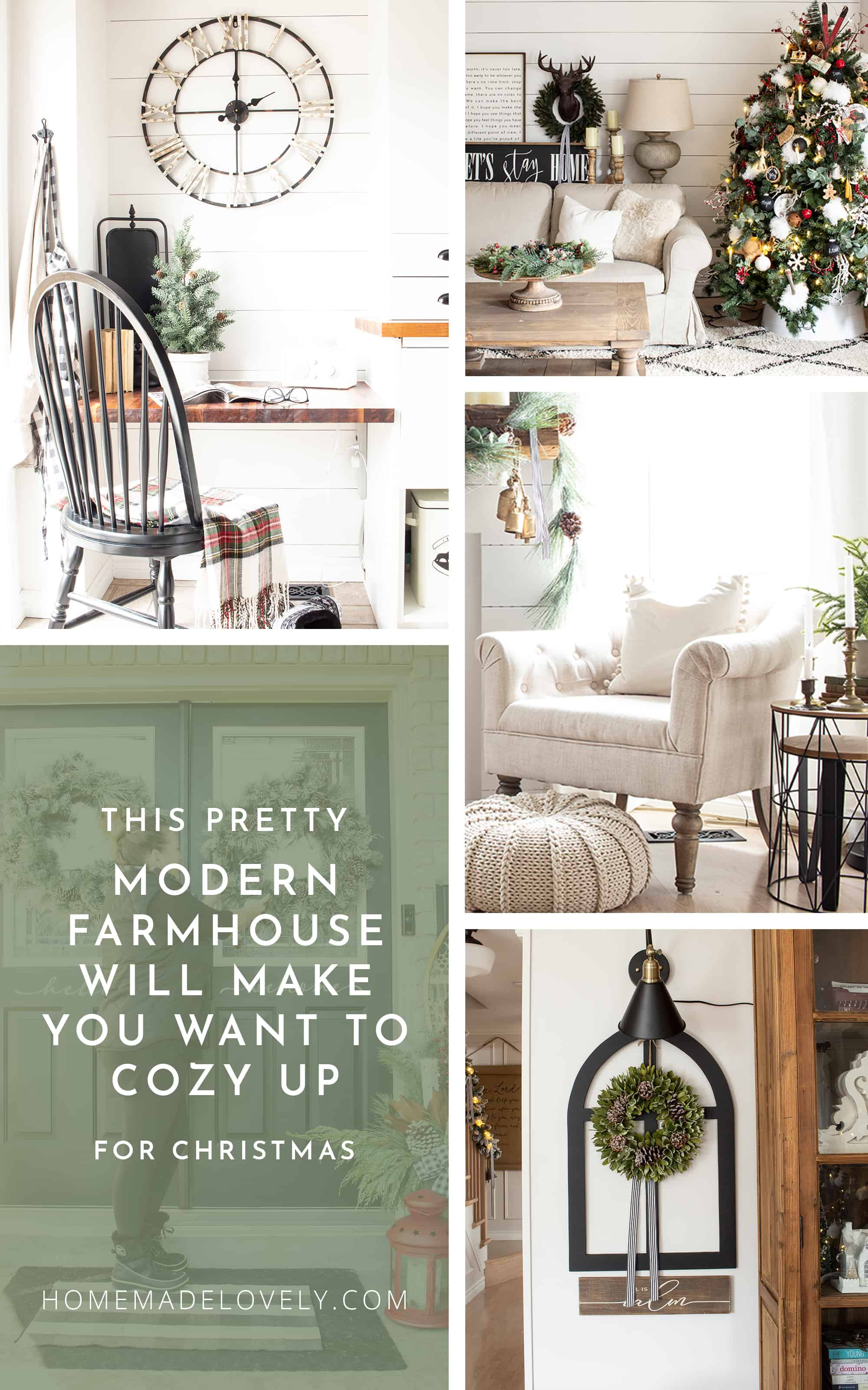 Our Pretty Modern Farmhouse Will Make You Want to Cozy Up for Christmas