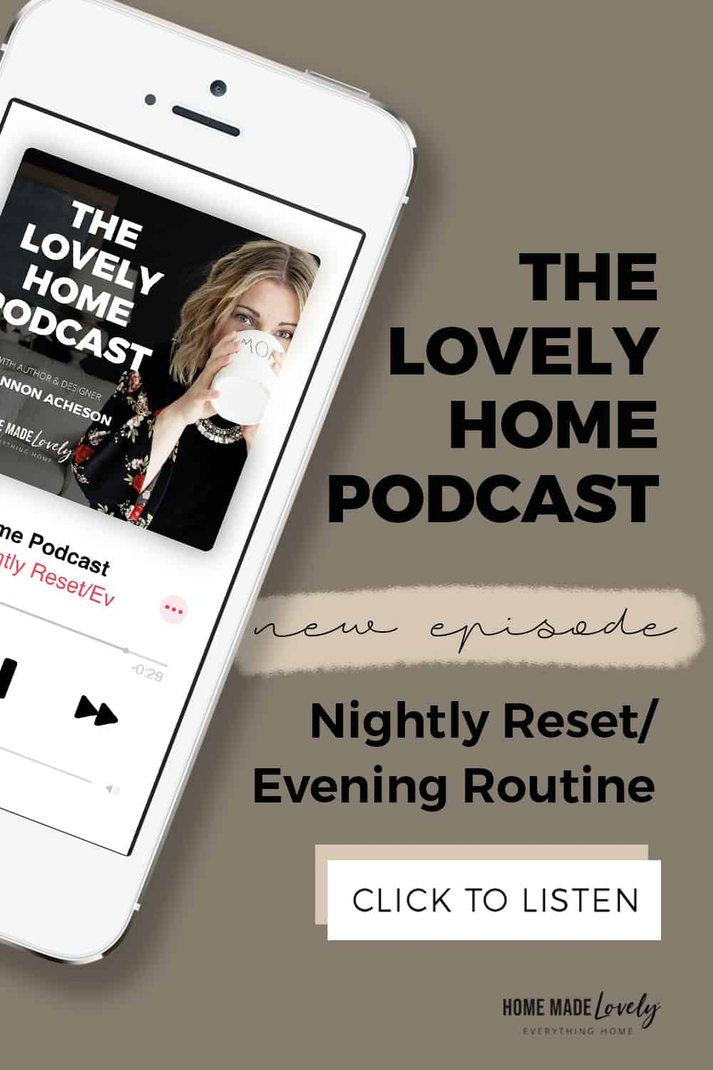 Ep 002: Nightly Reset/Evening Routine