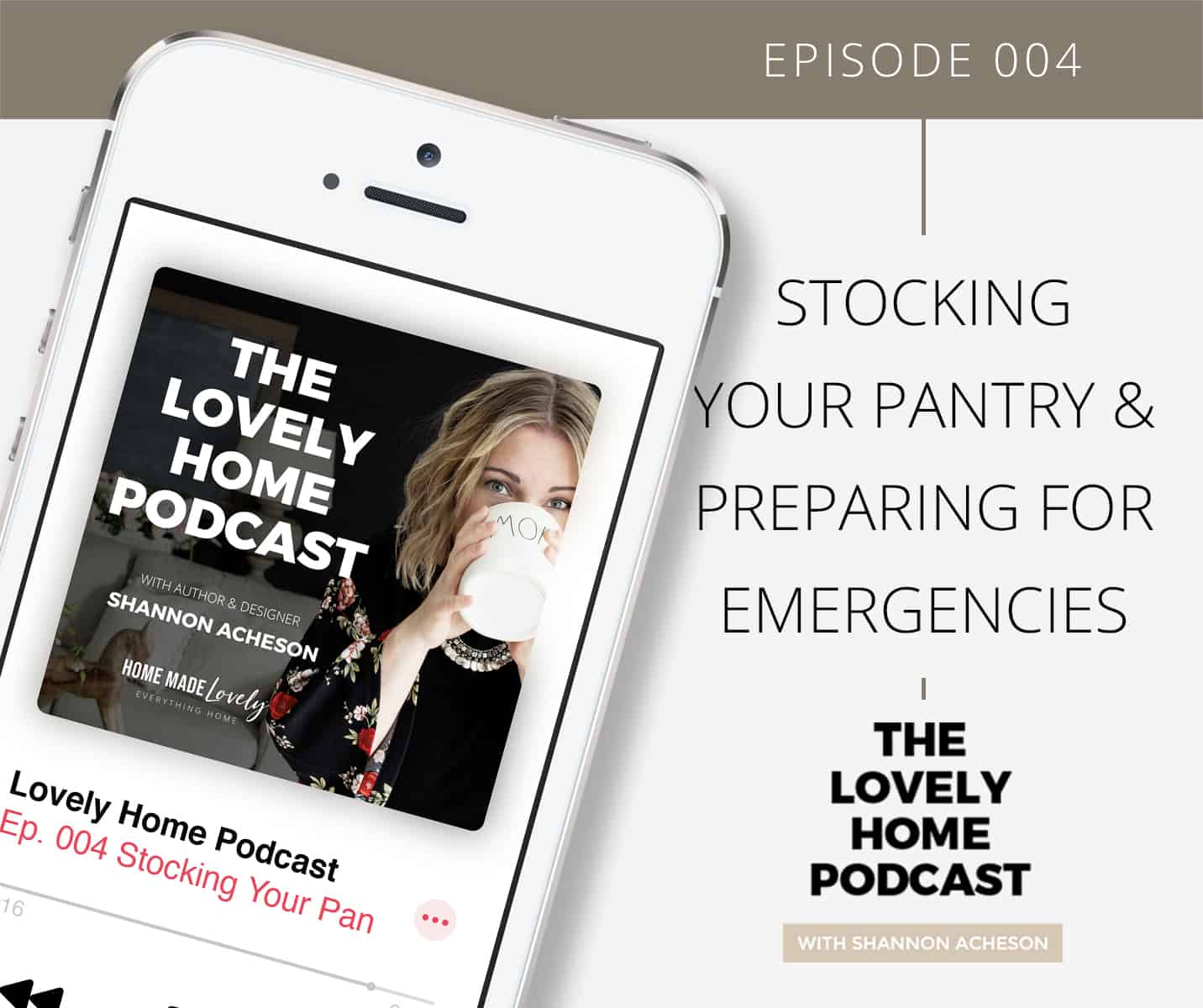 Stocking Your Pantry & Preparing for Emergencies