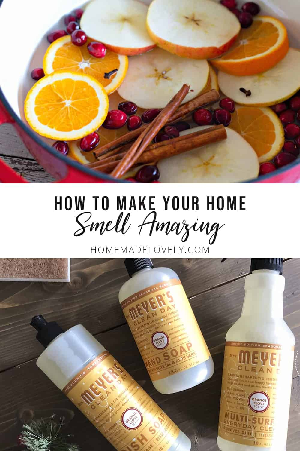 make your home smell amazing simmer pot and scented cleaner