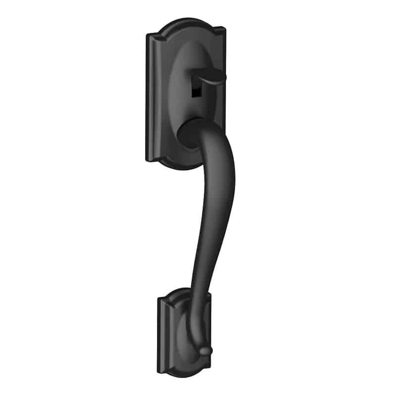 schlage front entry door handle