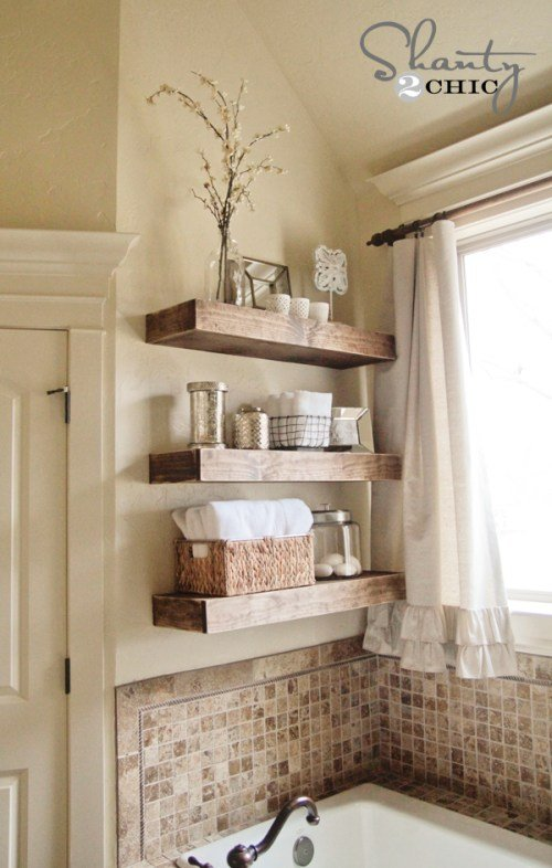 DIY-Floating-Shelf-Tutorial Shanty2Chic