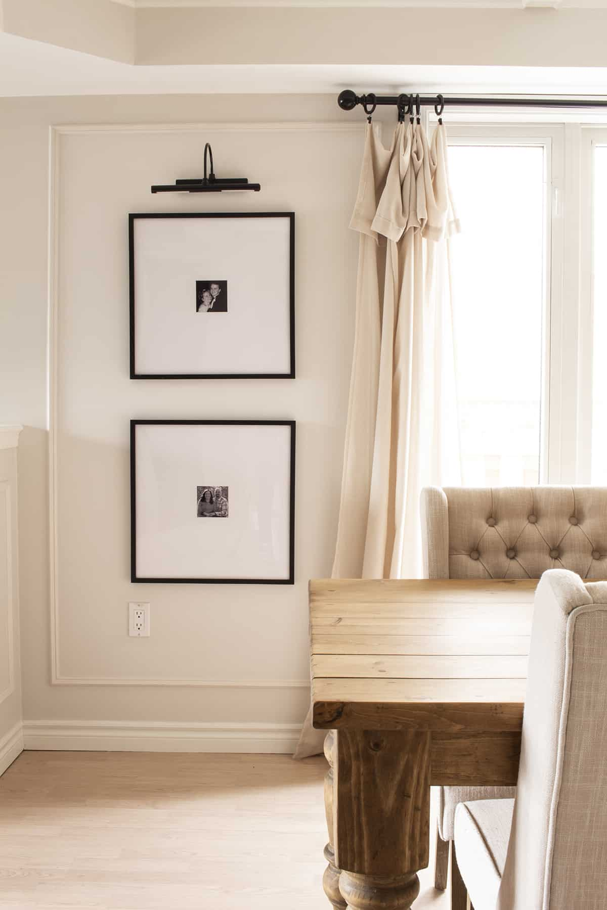 Gallery Light and Large Square Matted Prints