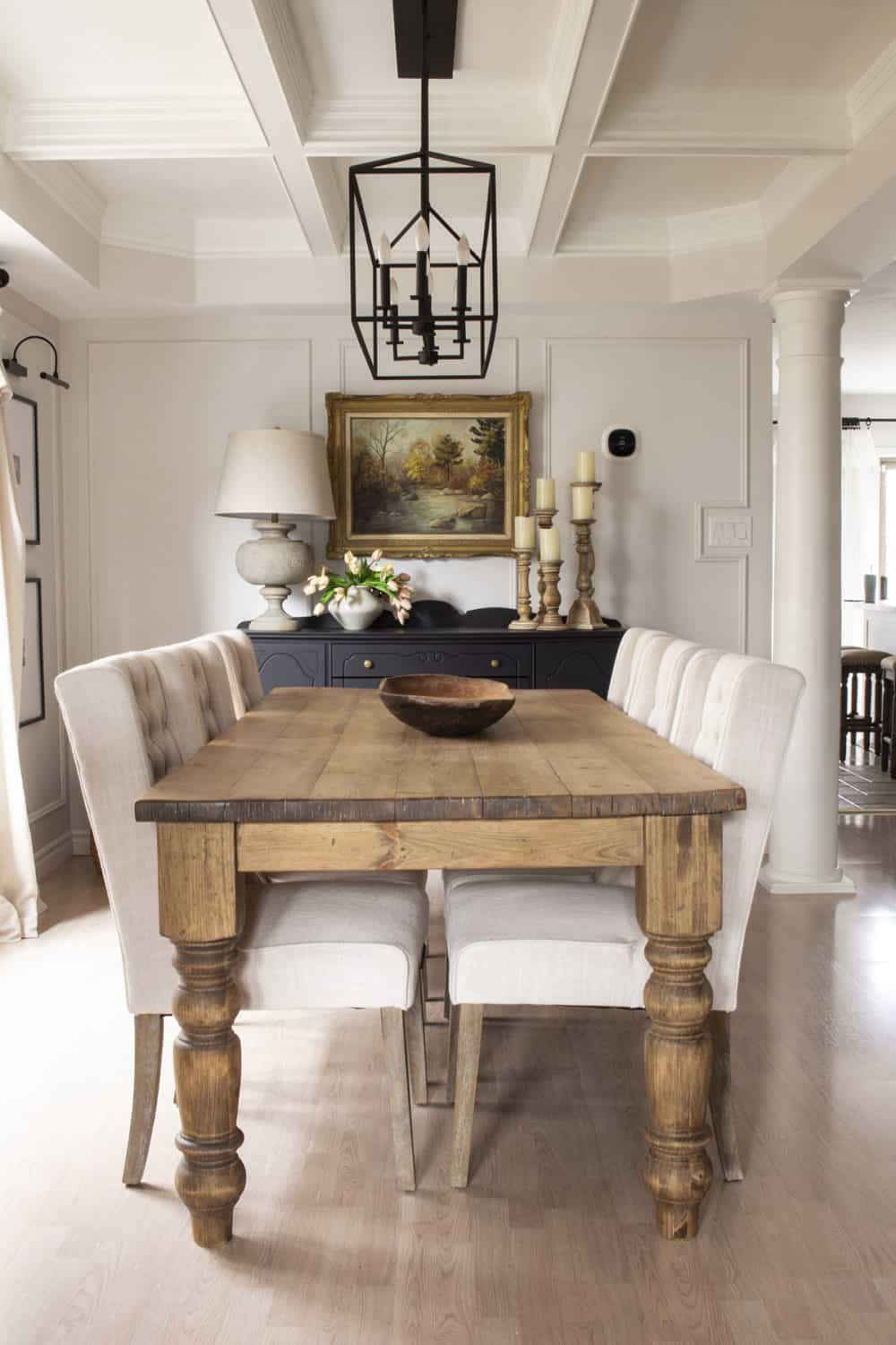 Modern Farmhouse Style dining room