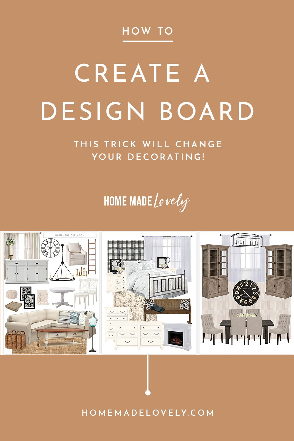how to create a design board text overlay with design board examples