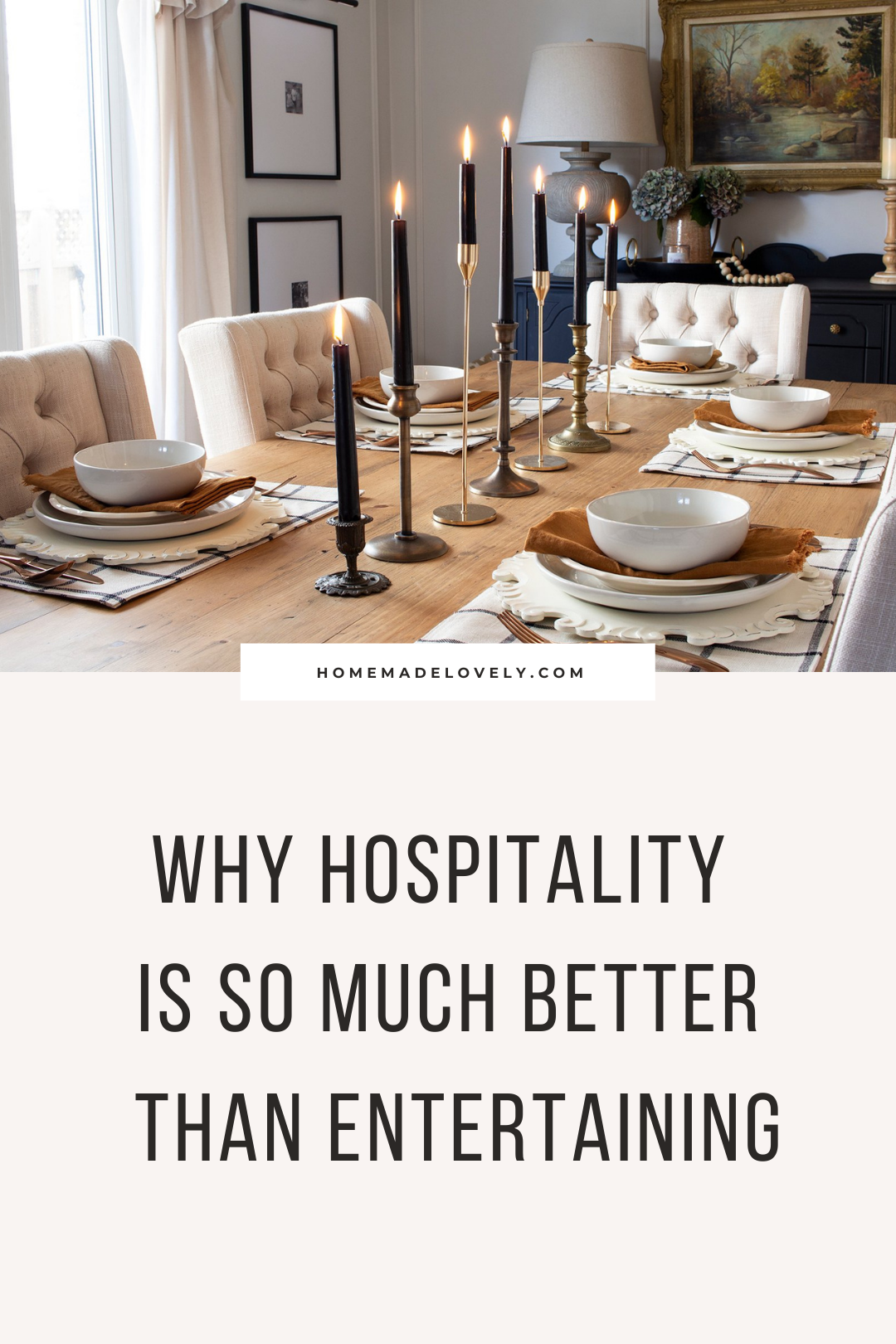 Why hospitality is so much better than entertaining pin 2